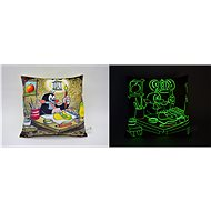 Luminescent Little Mole, Painter, Cushion - Pillow