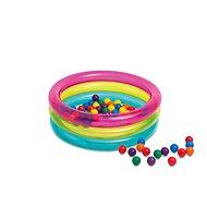 Intex Duhový bazén s míčky - Nafukovací bazén