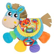 Playgro Baby Teether Book Donkey with Sound - Baby Teether