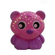 Playgro Usínací lampička medvídek s projektorem  růžový - Hračka pro nejmenší