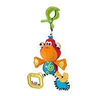 Playgro Závěsná opička s klipem - Závěsná hračka