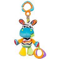Playgro Závěsná zebra s kousátky - Závěsná hračka