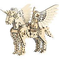 Mr. Playwood 3D Mecanical Unicorn malý - Stavebnice