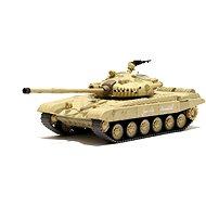 Tank Russian T-72 M1 Desert Yellow 1:72 - Tank na dálkové ovládání