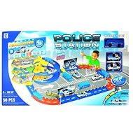 Teddies Policejní stanice s dráhou - Herní set