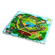 Teddies Pěnové puzzle Město - Pěnové puzzle
