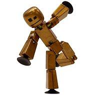 Epline Stikbot figurka – zlato-hnědá