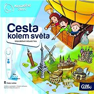 Kouzelné čtení - Hra Cesta kolem světa - Kniha pro děti