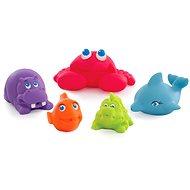 Playgro – Mořská zvířátka 5 ks - Hračka do vody