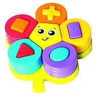 Playgro – Skládací puzzle květina s tvary - Interaktivní hračka