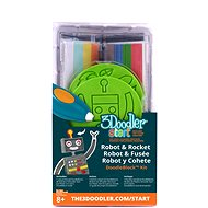 3Doodler Start – DoodleBlock Robot & Rocket - Kreativní sada