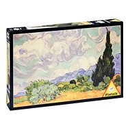 Piatnik Van Gogh, Pšeničné pole s cypřiši - Puzzle