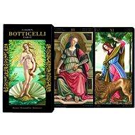 Piatnik Tarot Goldes Botticelli - Karetní hra