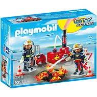 Playmobil 5397 Zásah hasičů s vodní pumpou - Stavebnice