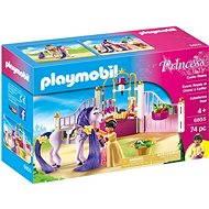 Playmobil 6855 Královské stáje - Stavebnice