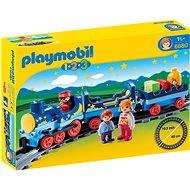 Playmobil 6880 Můj první vláček s kolejemi (1.2.3) - Stavebnice