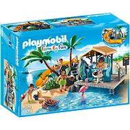 Playmobil 6979 Karibský ostrov s plážovým barem - Stavebnice