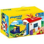 Playmobil 6759 Náklaďáček s garáží (1.2.3) - Stavebnice