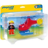Playmobil 6789 Požární helikoptéra (1.2.3) - Stavebnice