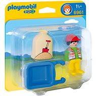 Playmobil 6961 Stavební dělník s kolečkem (1.2.3) - Hračka pro nejmenší