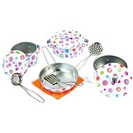 Bino Set of enamel dishes - Children's Toy Dishes