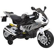 Dětská motorka BMW – bílo-šedivá - Dětská elektrická motorka