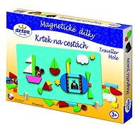 Mole On the Road - Magnetic Tiles - Puzzle