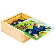 Bino Moje první puzzle, Baribal - Obrázkové kostky