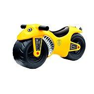 G21 Motorka BIKE žlutá - Dětské odrážedlo