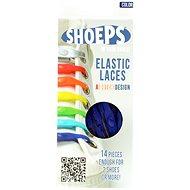 Shoeps - Silikonové tkaničky modré - Sada tkaniček