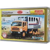 Monti system 12 - Expedice Tatra 815 měřítko 1:48 - Stavebnice