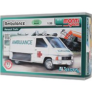 Monti system 06 - Ambulance Renault Trafic 1:35 - Stavebnice