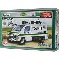 Monti system 27 - Policie Renault Trafic měřítko 1:35 - Stavebnice