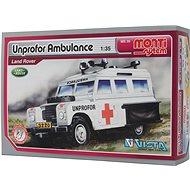 Monti system 35 - Unprofor Ambulance Land Rover měřítko 1:35 - Stavebnice