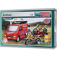 Monti system 49 - Enduro Renault Trafic  měřítko 1:35 - Stavebnice