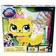 Littlest Pet Shop - Dekorativní zvířátko žluté - Herní set
