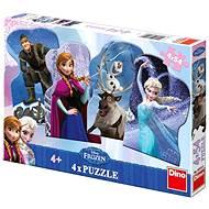 Dino Ledové království - Puzzle