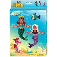 Dárková sada zažehlovacích korálků - Mořské panny - Kreativní sada