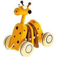 Bino Tahací žirafa - Tahací hračka