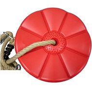 Houpačka CUBS Disk - květinka červená - Houpačka