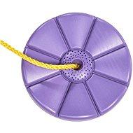Houpačka CUBS Disk - květinka fialová - Houpačka