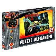 Jak vycvičit draka 2 - Maxi puzzle Hra na babu - Puzzle