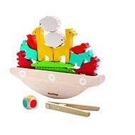 Dřevěná hračka Balanční loď