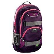 CoocaZoo Rayday Purple Magentic - Školní batoh