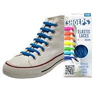 Shoeps - Silikonové tkaničky sky blue - Sada tkaniček