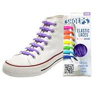 Shoeps - Silikonové tkaničky purple - Sada tkaniček
