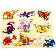 Puzzle na desce - Dinosauři - Puzzle