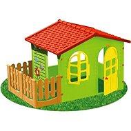 Dětský zahradní domek s plotem velký - Dětský domeček