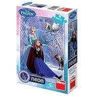 Disney Ledové království Neon - Puzzle