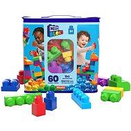 Mega Bloks Pytel kostek pro kluky (60 ks) - Stavebnice
